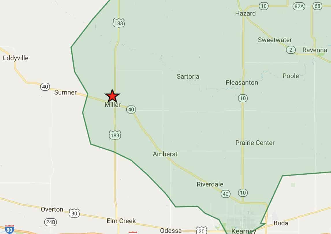 Prairie Hills Wireless Internet Services Coverage Area