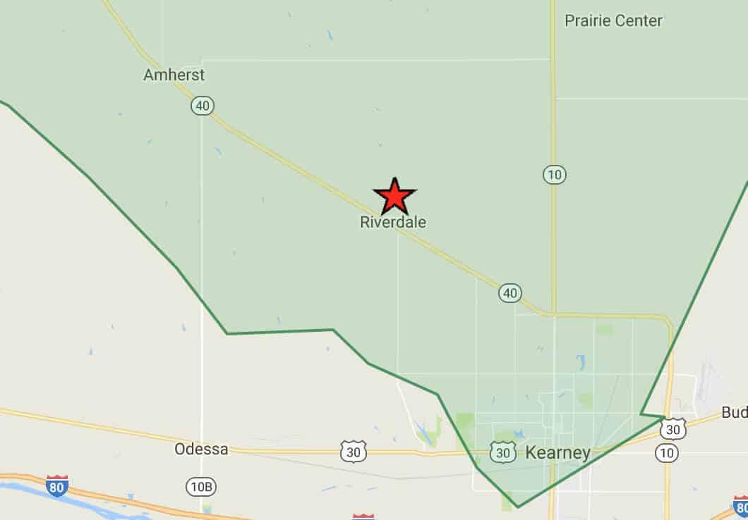 Prairie Hills Wireless Internet Services Coverage Area in Riverdale, NE